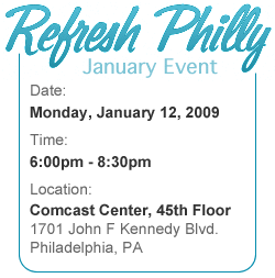 Refresh Philly: January Event Details